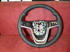 Lenkrad Opel Insignia A Sportlenkrad Neu Bezogen Leder Multifunktion OPC Look