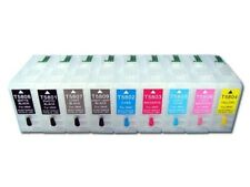 80ml refillable ink cartridge with auto reset chip for EP 3800 printer; 9pcs