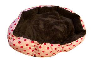 PUPPY KITTEN PINK BED
