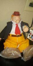 Vtg w/tag Popeye Wimpy Plush Doll 1985 Presents Hamilton King Features Syndicate