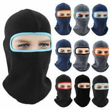 Women Men Winter Warm Hats Cap Fleece Ski Snow Mask Hood Caps Neck Hat Balaclava