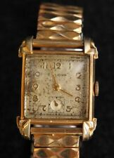 Bulova Gold Plated Band Men's Wristwatches