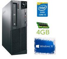 CHEAP LENOVO COMPUTER M81 Core i5 4GB RAM 500 HDD DVDRW WINDOWS 10