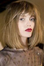 Amazing Natural Straight Bob Monofilament Wig 12 Inches 100% Remy Human Hair Wig