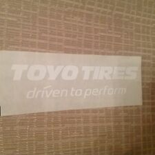 4X4 4WD RACING TYRES STICKER HOLDEN FORD  TOYO JEEP HONDA V8 motor TOYOTA V8