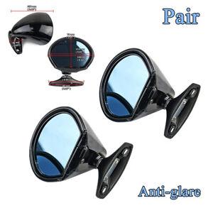 Universal California Classic Style Car Retro Anti-glare Rearview Side Mirror 2x