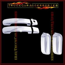 For NISSAN Xterra 2005-2011 2012 2013 2014 2015 4 Chrome Door Handle Covers w/o
