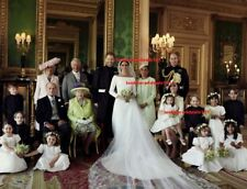 ROYAL WEDDING Photo 8x10 PRINCE HARRY MEGHAN MARKLE Official Family Portrait