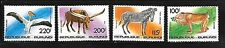 BURUNDI Sc C298-301 NH ISSUE OF 1992 - WILD ANIMALS