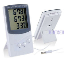 Digital LCD Indoor/Outdoor Thermo-hygrometer Temperature Humidity Meter Tester