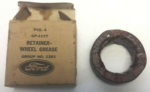 WWII willys MB Ford GPW jeep GP-1177 NOS Oil Seals Wheel Grease Retainer, G503