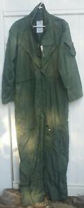 Flight Suit, Coveralls, Flyers, Men, Summer, Fire Resistant, CWU-27P, Size 44R