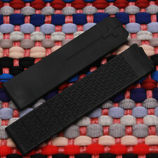 20mm Black Silicone Rubber Replacement Strap Band for Tissot T-Touch Z353
