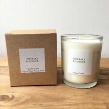Velas Perfumadas cera de soja ruibarbo & Ginger Aroma natural 45 horas Aroma quemar el cielo
