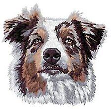 "Australian Shepherd, Aussie Dog, Embroidered Patch 3.2"" Tall"