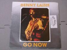"Denny laine:  Go Now  7""   Near Mint Unplayed (sticker on sleeve)"