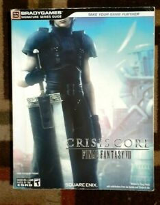 Final Fantasy VII Crisis Core Bradygames Official Strategy Game Guide No FoldOut