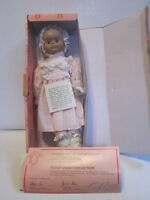 "1990'S DESIGN DEBUT 15"" TALL PORCELAIN BABY DOLL NAMED PAULETTE"