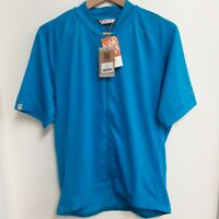 Giro Sport Design Mens  Cycling Jersey  Sz XL Short Sleeve Blue New With Tags