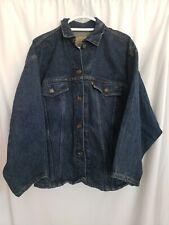Vintage Levi's Orange Tab Denim Acid Wash Jacket Medium