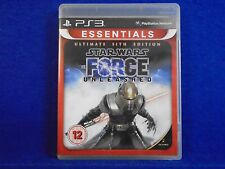 ps3 STAR WARS The Force Unleashed Ultimate Sith Edition *x PAL UK REGION FREE