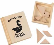 Toysmith Tangram Brain Teaser Puzzle (7 Pieces)