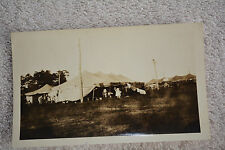 Original Circus life setting up and tearing down the tents B&W PHOTO 2.5 X 4.5""