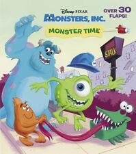Monster Time (Disney/Pixar Monsters, Inc.) (Nifty Lift-and-Look) - New - Posner-