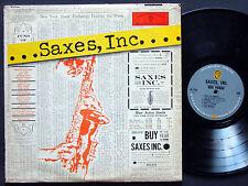 COLEMAN HOWKINS ZOOT SIMS HAL MCKSICK Saxes, Inc. LP WARNER BROS W-1336 US 1959