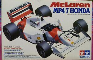 1/20 Tamiya McLaren Honda MP4/7 Senna Berger F1 Formula 1 1992 W New Decal