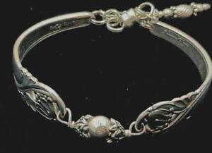 Vintage Silver Plated Spoon/Flatware Bracelet