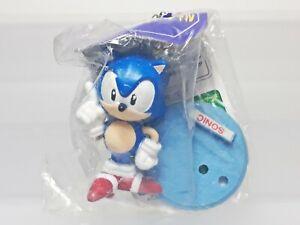 "Sonic the Hedgehog Figure Keychain SEGA 1998 Prize Toy Japan R02 1.9"""