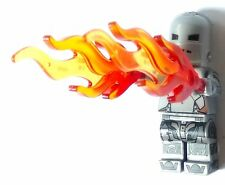 CUSTOM IRON MAN IRONMAN MARK MK 1 MINI FIGURE MINIFIG W FLAMES FREE SHIPPING