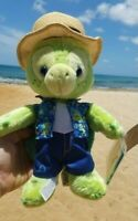 "Authentic Disney Aulani 11"" Olu Plush Sea Turtle*Duffy & Friends Hawaii Aloha"