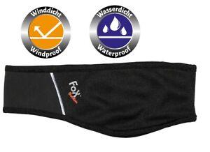 Stirnband Softshell Schweißband Windstopper Ohrenschutz Kälteschutz Unisex FOX