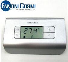 FANTINI COSMI – TERMOSTATO AMBIENTE DIGITALE A BATTERIA CH116 SILVER