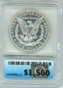 1892-S Morgan Silver Dollar ICG AU50 ALMOST UNCIRCULATED LOOKS MUCH NICER - RARE