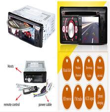 """3.3"""" MP5 HD Auto DVD Lettore MP3 video REVERSE AUX AUDIO RADIO FM TELEFONO DI RICARICA"""