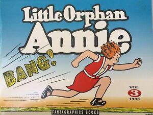 1991 Little Orphan Annie Volume 3 -1933 FantaGraphics Soft Cover 1st Edition