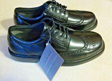 NEW NUNN BUSH MEN'S DRESS OXFORDS 8M EAGAN 84155-001 NON- SLIP DRESS WING TIP