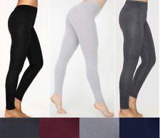 NEW Plus Size Cotton/Spandex Long Basic Leggings and Capri Leggings- XL/1X-2X-3X