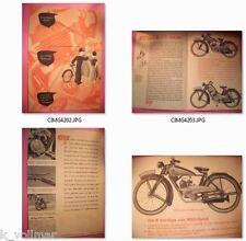 ✪altes original Vorkriegs Prospekt NSU-D NSU-Quick Herren&Damenrad Motorrad