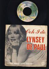 Lynsey de Paul - Ooh I Do - Nothing Really Last Forever - 7 Inch Vinyl - BELGIUM