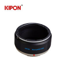 Kipon For Mamiya 645 Lens to Fujifilm G-Mount GFX 50S Camera Pro Lens Adapter