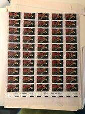 sheet of 50 CHRISTMAS ANGEL GABRIEL VAN EYCK stamps Scott #1363 MNH 1968 USA 6c
