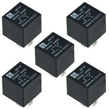 5 x 12V Automotive Changeover Relay 40A 5-Pin SPDT