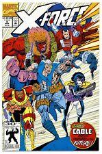 X-FORCE Vol.1 #8(3/92)1st APP. REAL DOMINO(*CAMEO)1:WILD PACK(CGC IT)9.8(X-MEN)!