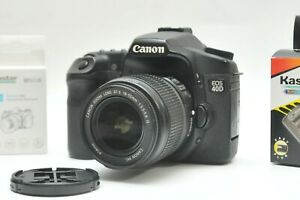 Canon EOS 40D Digital SLR Camera With 18-55mm IS Lens Kit