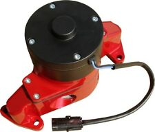 Engine Water Pump-Electric Aluminum Red Powder Coat Fits SB Ford Engines PROFORM