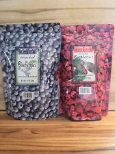 2 Pack! Trader Joe's Freeze Dried Raspberries and Freeze Dried Blueberries! lot